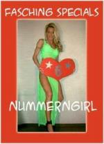 sexy Nummerngirls Fasching Herrensitzung buchen