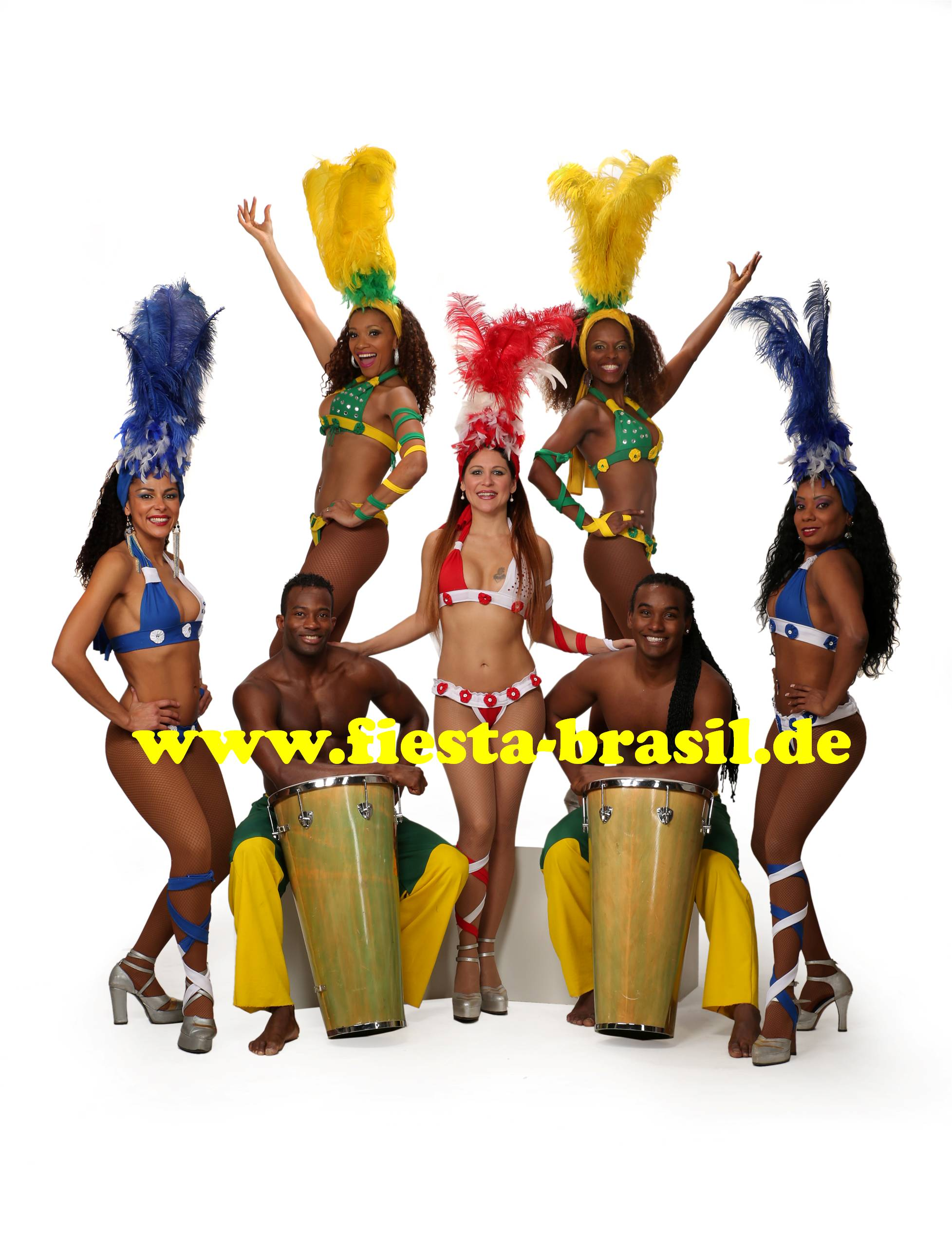 Samba mit Live Percussion