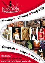 Party Strip Agentur für Stripper, Stripperinnen & Gogos bundesweit