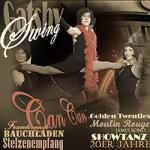 20er Jahre Tanzshows . CanCan . Swing . Mouling Rouge . Bauchladen